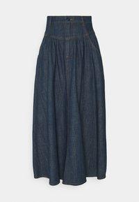 Denim skirt - denim blue