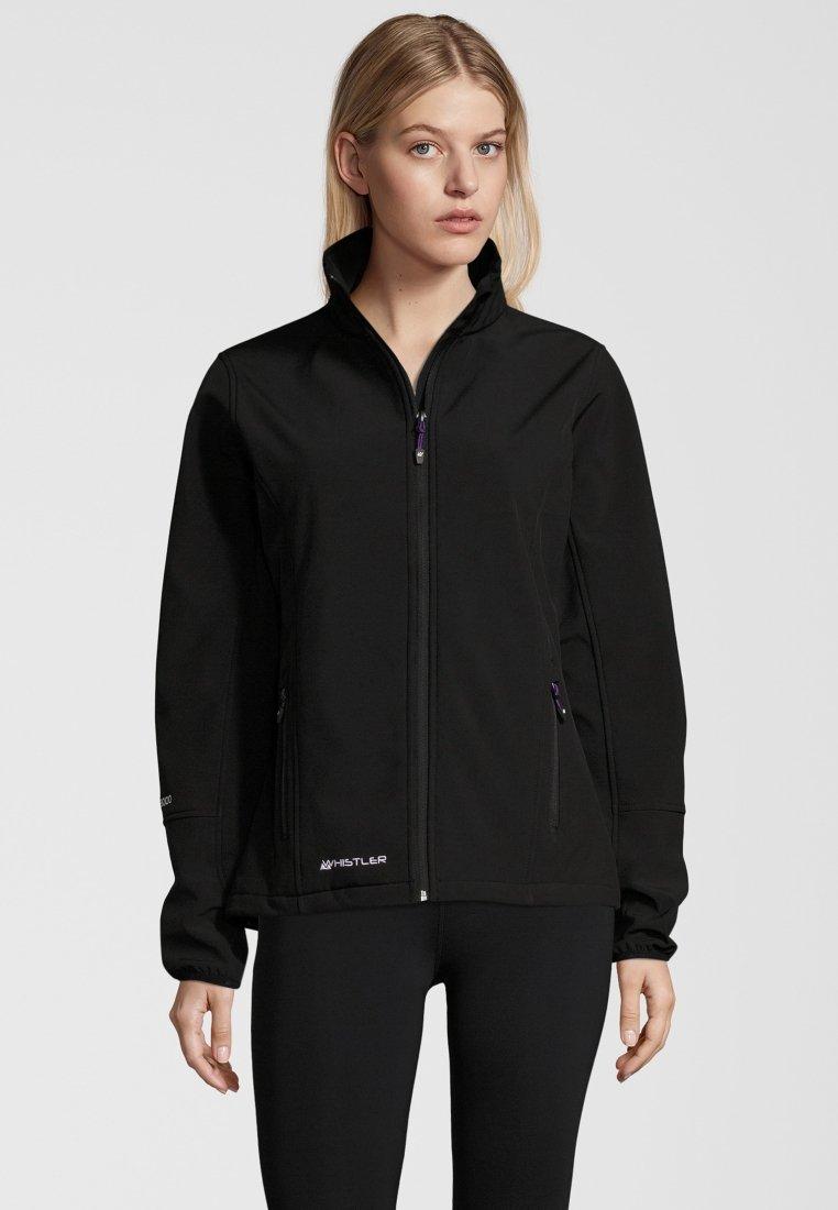 Whistler - MIT WASSERDICHTER ZWISCHENMEMBRAN - Soft shell jacket - black