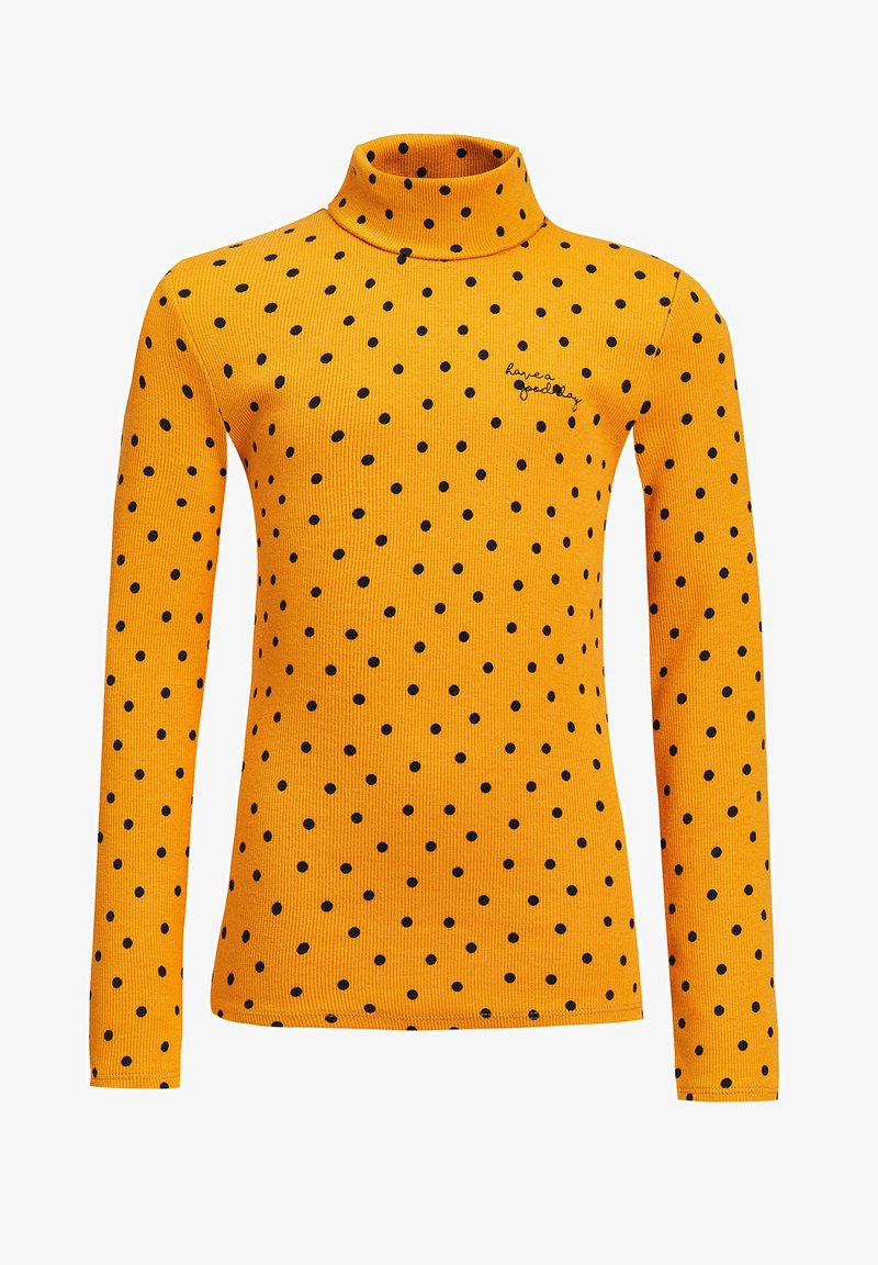 WE Fashion - ROLNEK - Long sleeved top - yellow