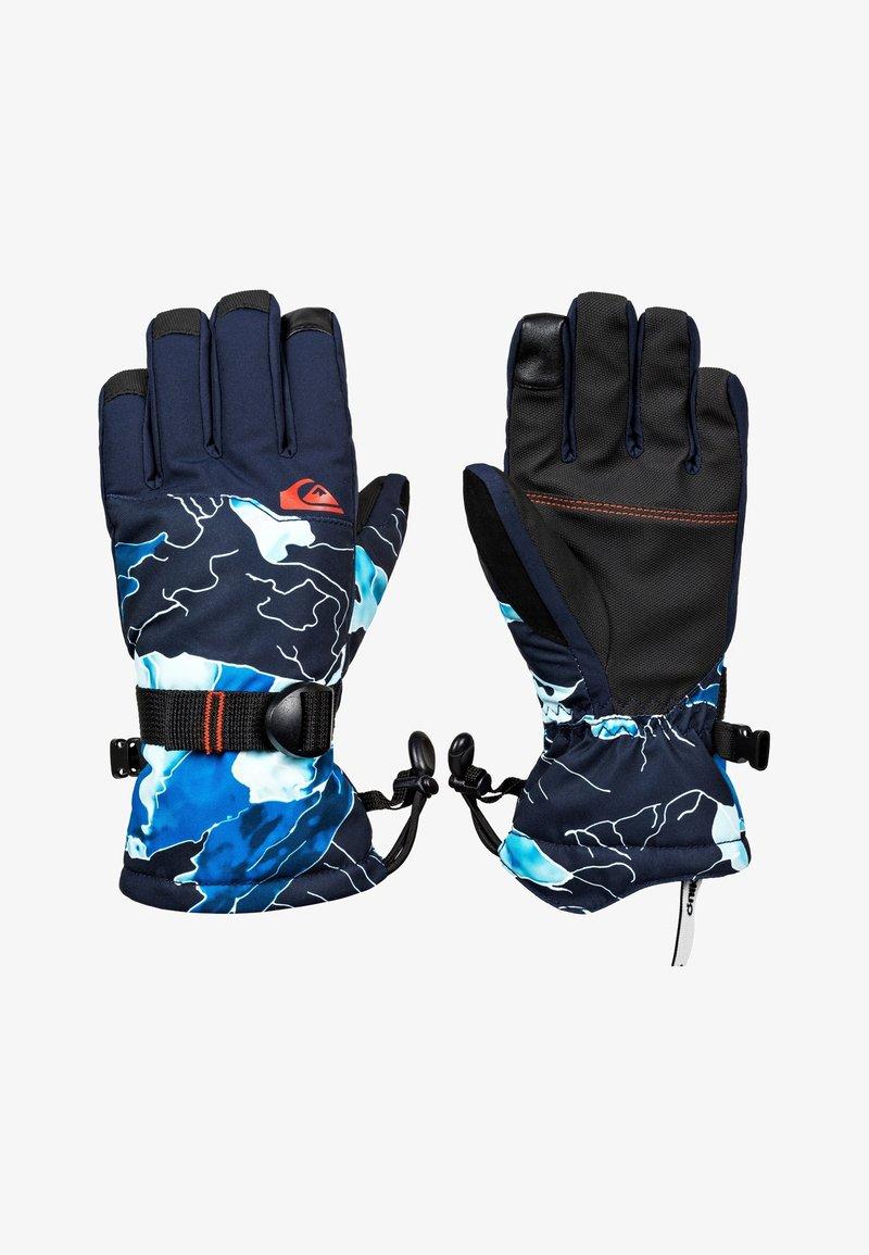 Quiksilver - MISSION - Handschoenen - brilliant blue nature abstrakt