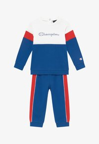 Champion - TODDLER COLORBLOCK SET - Survêtement - blue/white/red - 3
