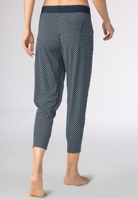 mey - SCHLAFHOSE SERIE NIGHT2DAY - Pyjama bottoms - night blue - 1