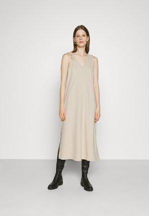 KINI - Jersey dress - dust white