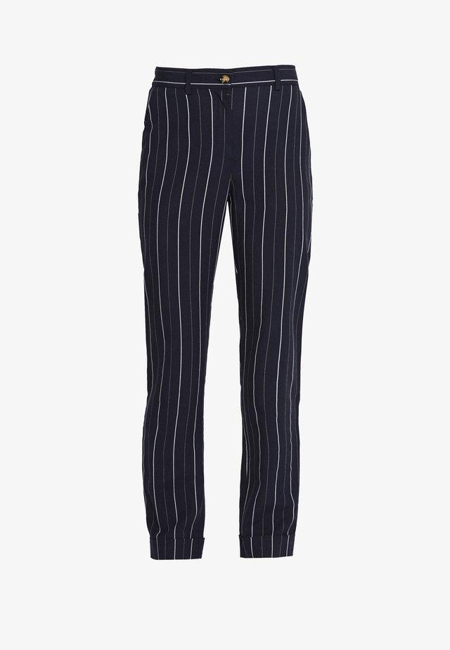 ALYVIA PANTS - Pantalones - dark blue