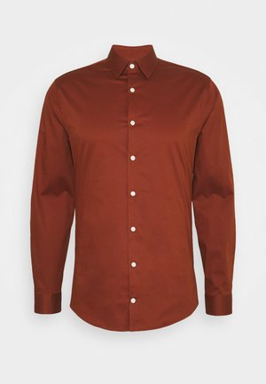 FILBRODIE - Formal shirt - rust red