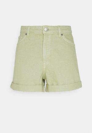 TALLIE - Short en jean - green dusty light