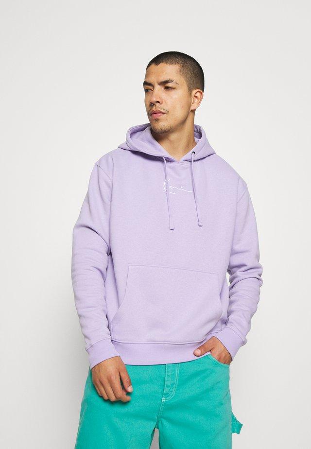 SMALL SIGNATURE HOODIE UNISEX  - Sweatshirt - lilac