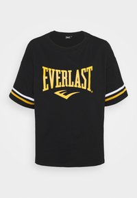 Everlast - T-shirt con stampa - black/nuggets/white - 4