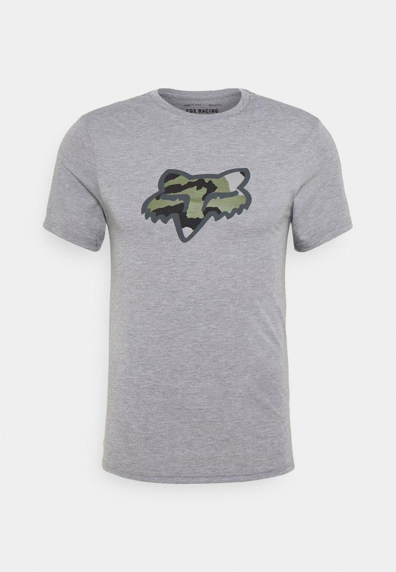 Fox Racing - PREDATOR TECH TEE - T-Shirt print - heather graph