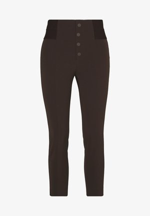 SOHO FASHION PANTS - Trousers - coffee
