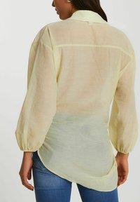 River Island - Button-down blouse - yellow - 2
