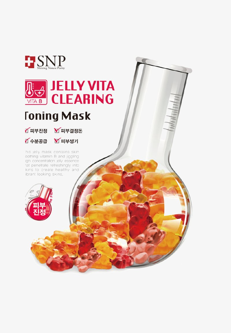 SNP - SNP JELLY VITA CLEARING TONING MASK 10 PACK - Face mask - -