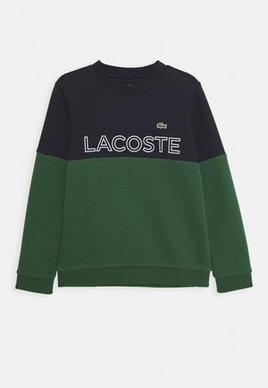 Sweatshirt - abysm/green/white