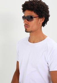 Prada Linea Rossa - LIFESTYLE - Sunglasses - gunmetal/brown - 1
