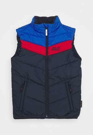 THREE HILLS VEST KIDS - Waistcoat - night blue