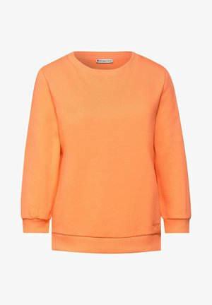 Sweatshirt - orange