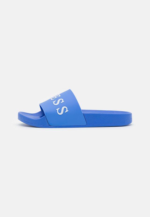 SLIDES - Sandály do bazénu - adventure blue