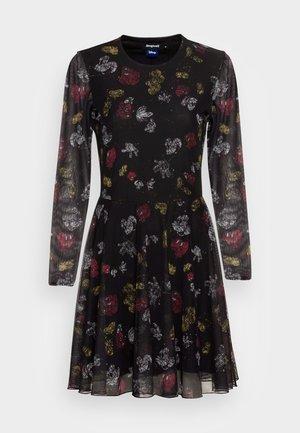 DRESS MICKEY - Korte jurk - black