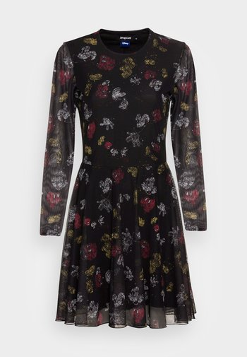 DRESS MICKEY - Denní šaty - black