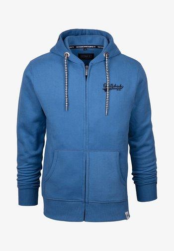 KLAUS - Zip-up sweatshirt - blue