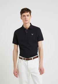 Barbour - TARTAN - Polo shirt - black/modern - 0
