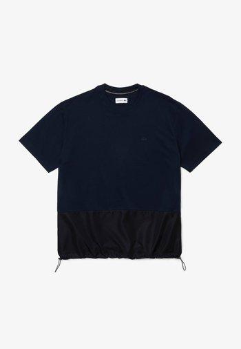 Print T-shirt - navy blau / navy blau