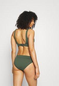 Seafolly - V NECK CROP - Bikini-Top - ivy - 2