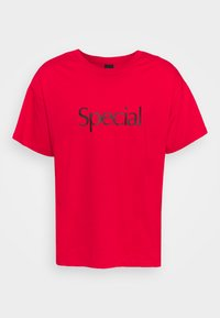 SPECIAL UNISEX - Print T-shirt - red