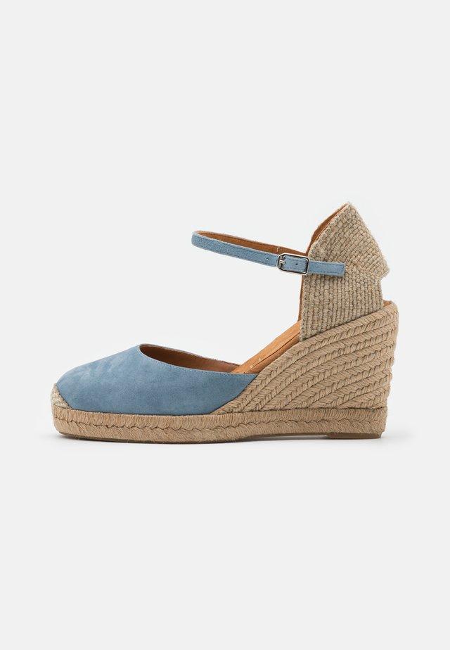 CASTILLA - Sandali con plateau - jeans