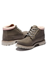 Timberland - NELLIE CHUKKA DOUBLE - Lace-up ankle boots - olive nubuck - 3