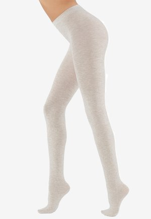 COLLANTS DOUX AVEC CACHEMIRE - Tights - white