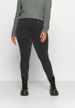 SLFTIA - Jeans Skinny Fit - dark grey denim