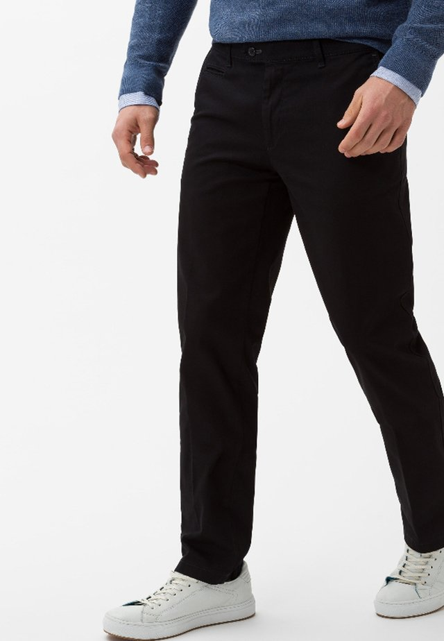 STYLE EVEREST - Chinos - perma black