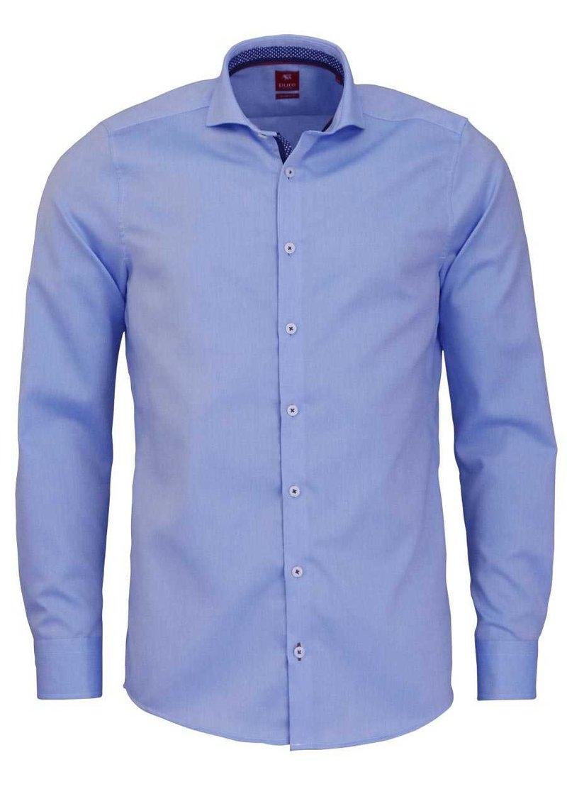 Pure - SLIM FIT  - Formal shirt - hellblau