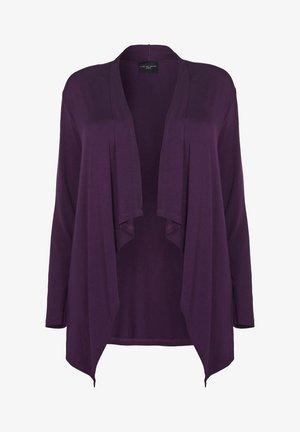 Cardigan - dark purple