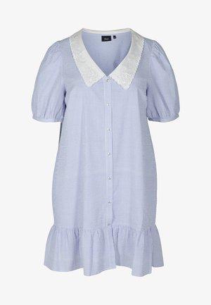 MIT KRAGEN - Shirt dress - marlin