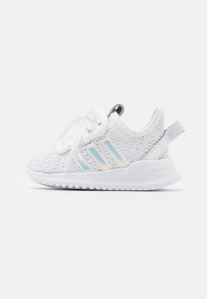 U_PATH RUN UNISEX - Lær-at-gå-sko - footwear white/core black