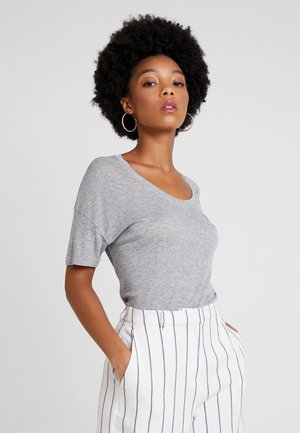 T-Shirt basic - silver chine