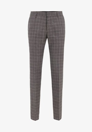 GENIUS - Suit trousers - black