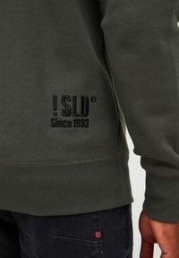 Solid - BENE - Zip-up sweatshirt - climb ivy - 4