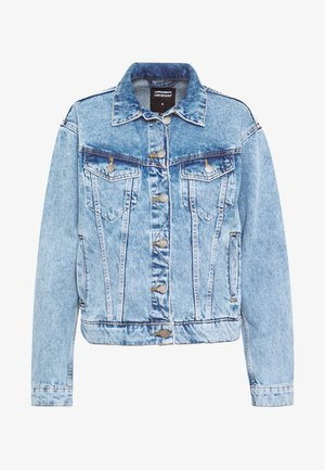 ALVA TRUCKER JACKET - Denim jacket - destiny blue