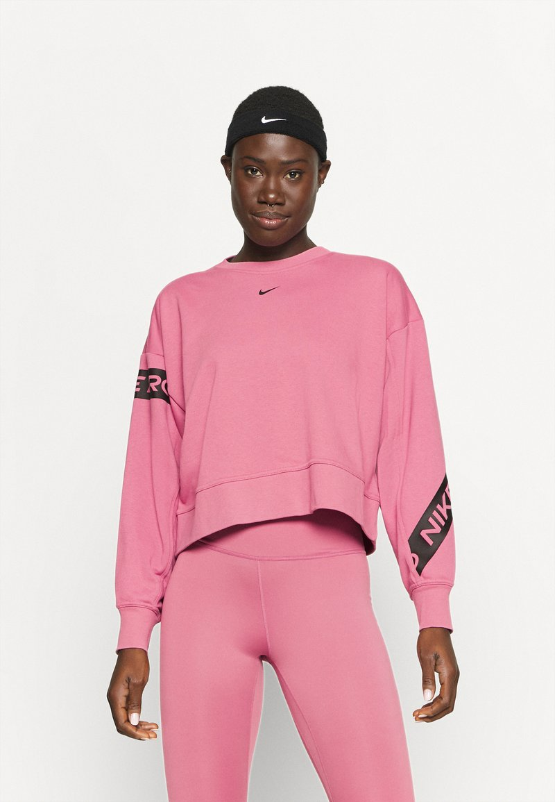 Nike Performance - GET FIT - Sweatshirt - desert berry