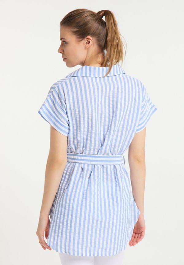 DreiMaster Koszula - weiss hellblau/biały AOZE