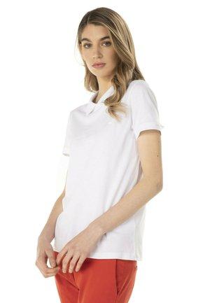 RIPORTATA - Polo shirt - bianco