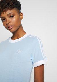 adidas Originals - Print T-shirt - clear sky/white - 3