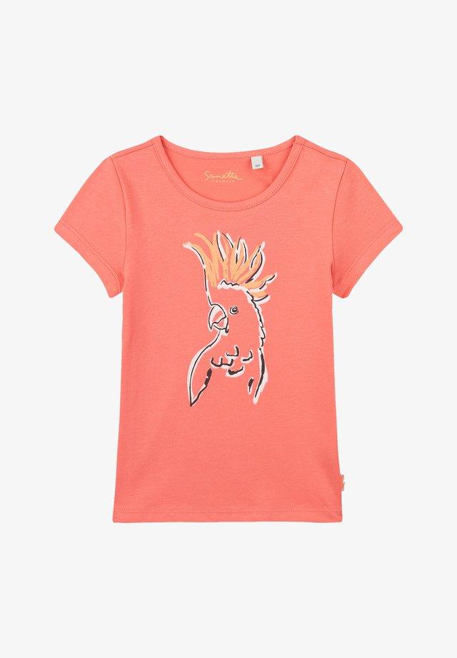TROPICAL - T-shirt print - pink