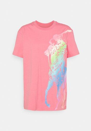 Print T-shirt - ribbon pink