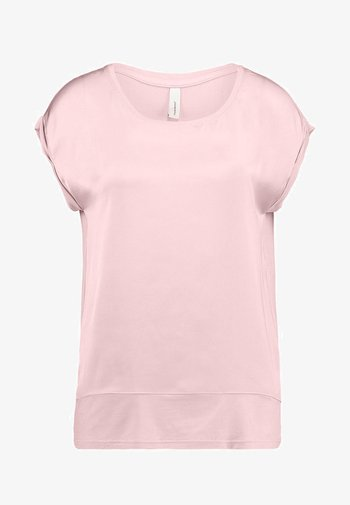 THILDE - Jednoduché triko - powder pink