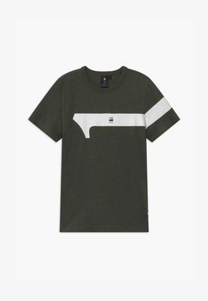 TEE - T-shirts print - asfalt