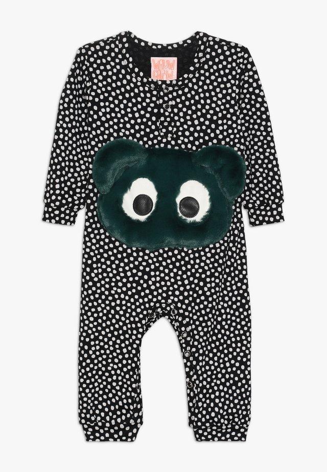 NONO BABY - Jumpsuit - black/white
